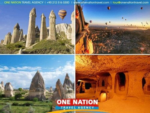 2 Days Cappadocia Tour from Istanbul by Plane (without Hotel)