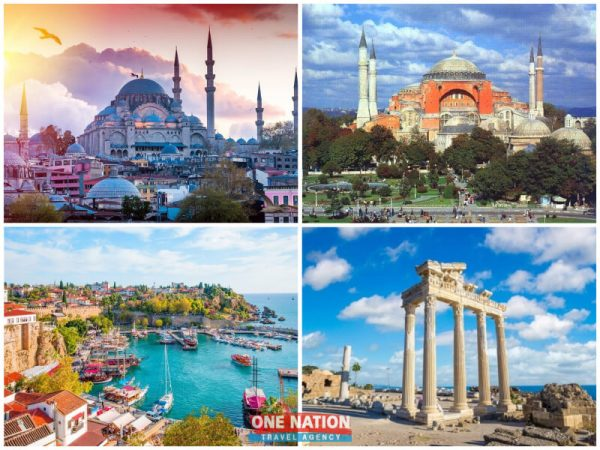 5-Day Istanbul and Antalya Tour