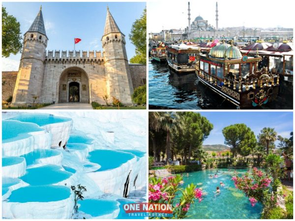 5-Day Istanbul and Pamukkale Tour